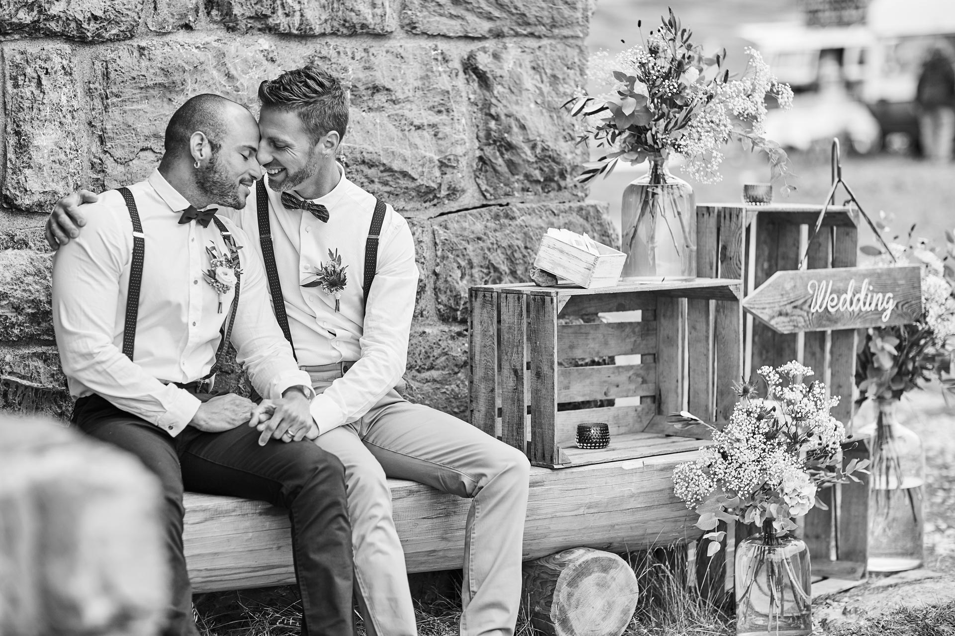 Gay Wedding Brautpaar