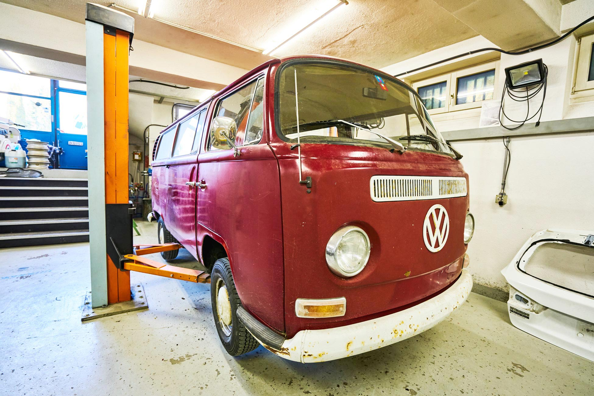 VW Bus Totalrestauration