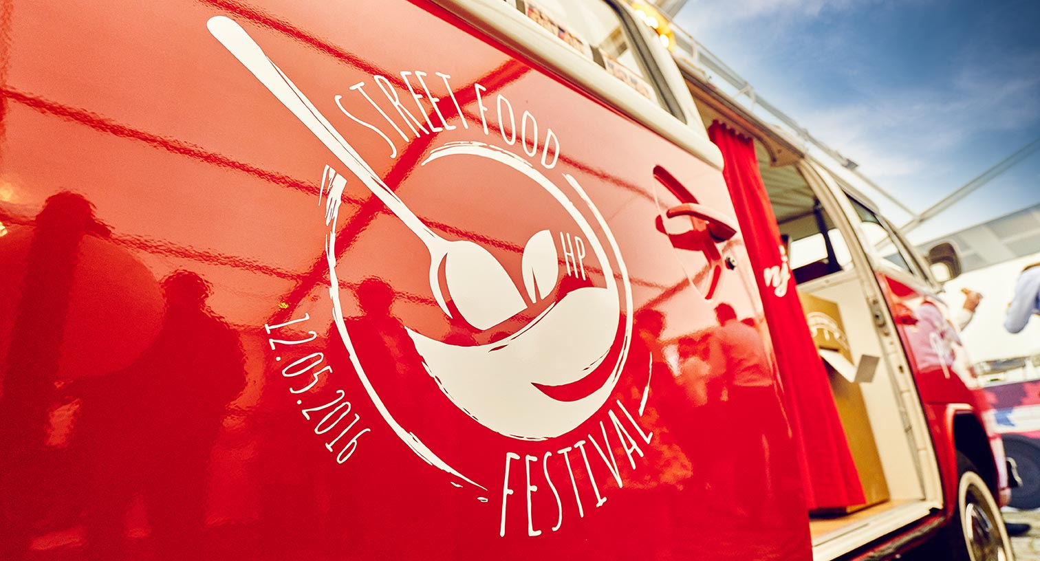 Photobox mit Branding am Streetfood Festival