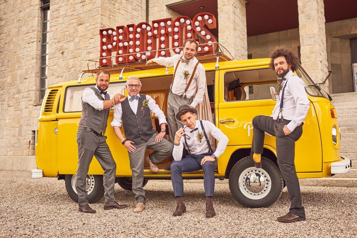Barber Shooting mit Fotobus
