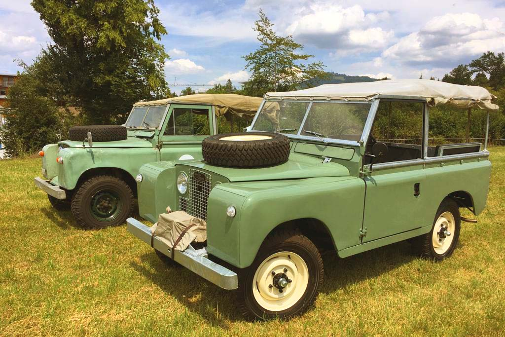 Land Rover 88 Serie 2
